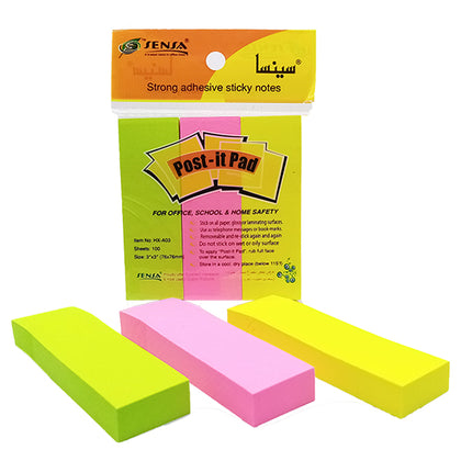 Post-it Pad With Cut Sensa 3X3
