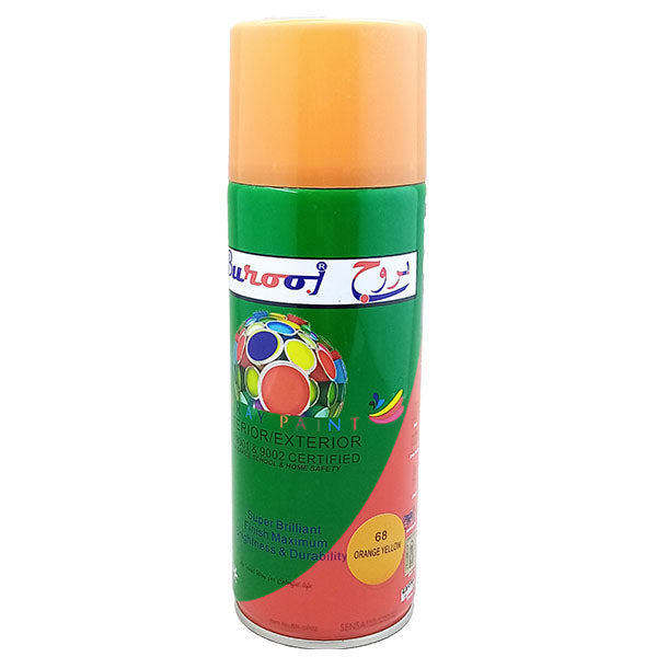 Spray Paint  Orange Yellow Burooj # 68