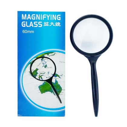 Magnifying Glass Black Fine 60MM