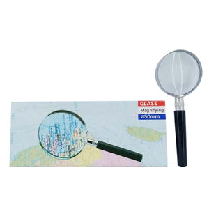 Magnifying Glass Silver& Black 50MM