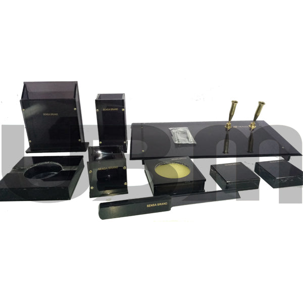 Sensa Table Set Black 9 Pcs