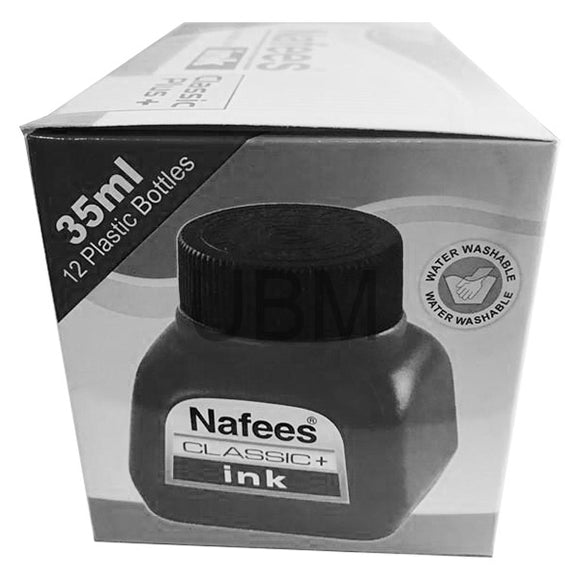 Nafees Fountain Pen Ink 35ML Black