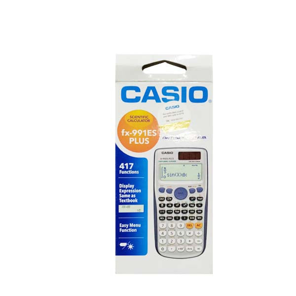 Casio Calculator 991 ES Original Black/Silver