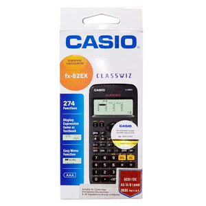 Casio Calculator 82 EX Original Black