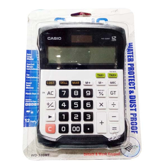 Casio Calculator WD-320 MT Original Black