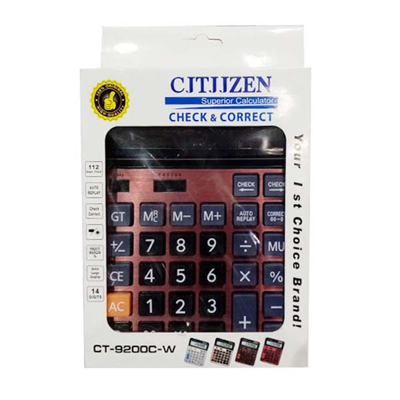 Calculator China No- CT-9200 C