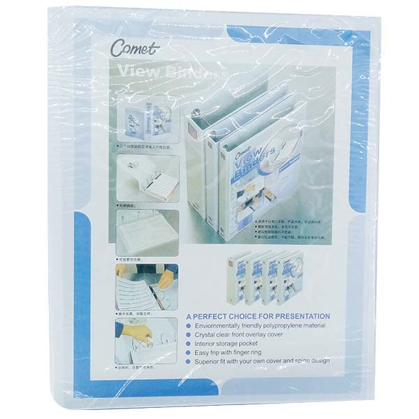Comet Ring Binder 25 mm  White
