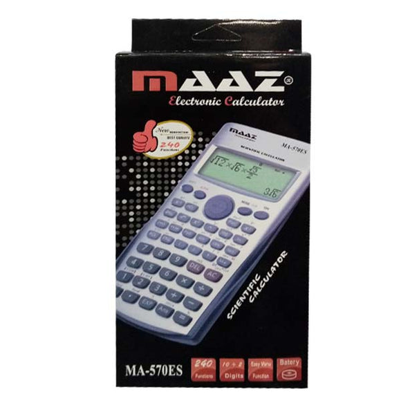 Maaz Calculator China Ma-570 Es Plus