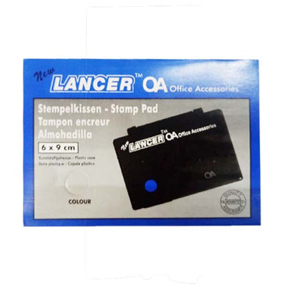 Stamp Pad Lancer White Small 6X9