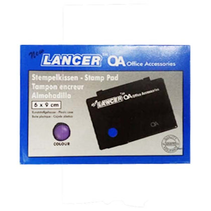 Stamp Pad Small 6X9 - Violet - Lancer
