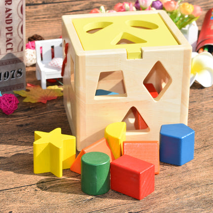 Wooden Toy Puzzle Box #93-13