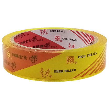 Scotch Tape Yellowish Deer 1X50Y (1pcs)