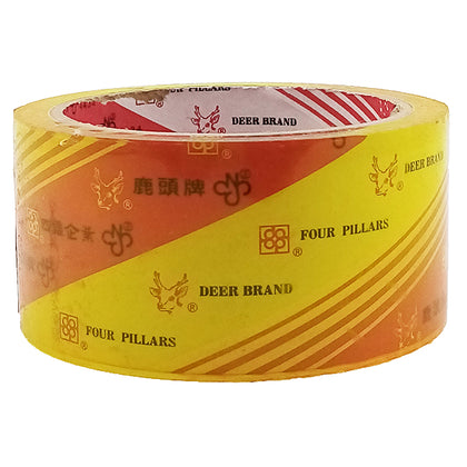 Scotch Tape Yellowish Deer 2X50Y (1pcs)