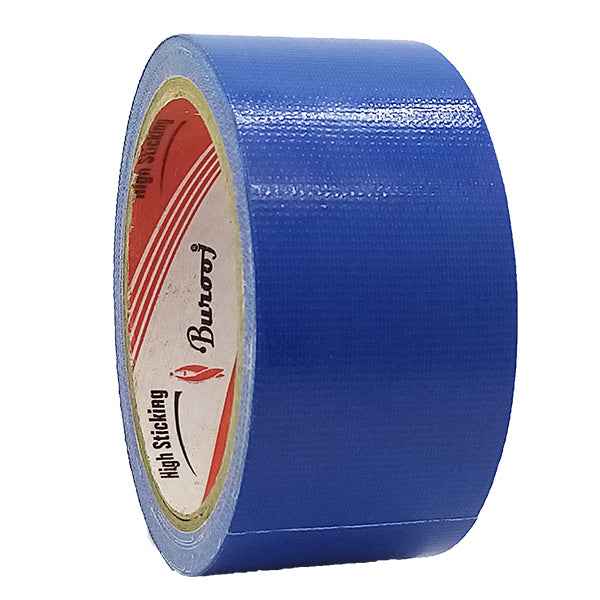 Cloth Binding Tape Burooj Blue 2X10Y (1pcs)
