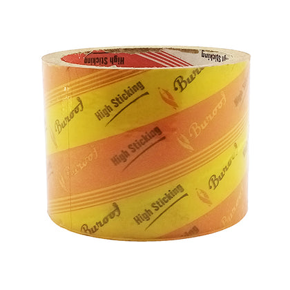 Scotch Tape Yellowish Burooj 3X40Y (1pcs)