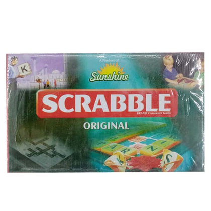 Green Scarabble Game