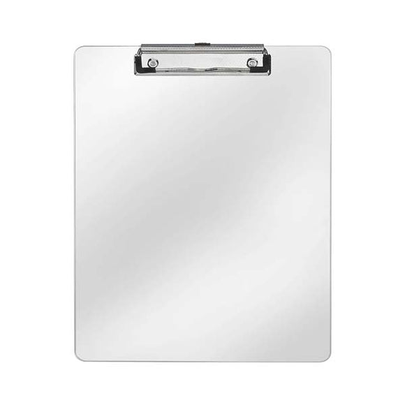 Clip Board Aluminum Small With Wire Clip