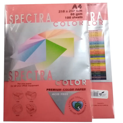 Color Paper No-250 Spectra Red