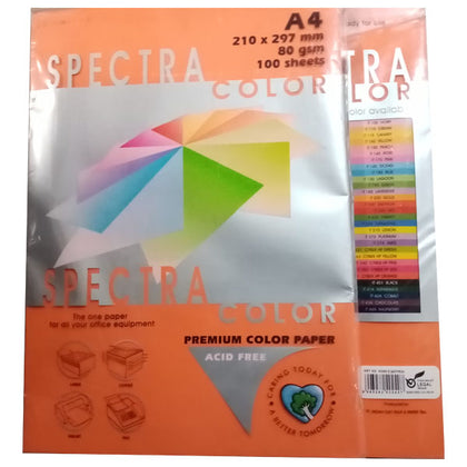 Color Paper No-371 Spectra Cyber Hb Orange