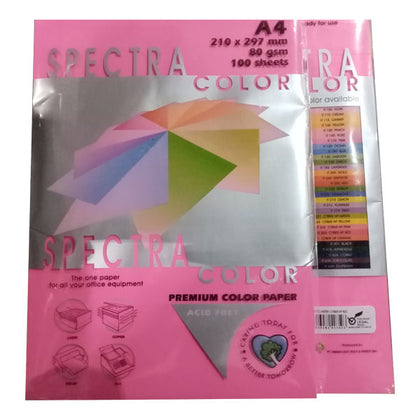 Color Paper No-350 Spectra Cyber Hp Red