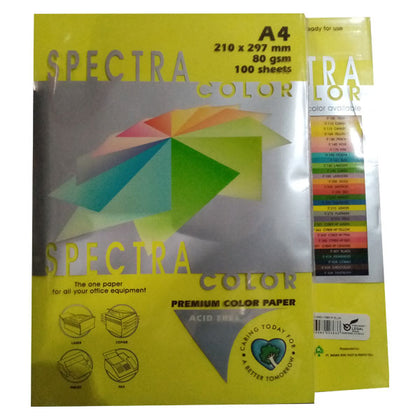 Color Paper No-363 Spectra Cyber Hb Yellow