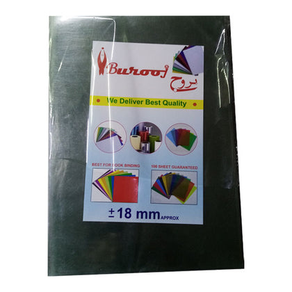 Binding Sheet 18mm A/4 Burooj Clear
