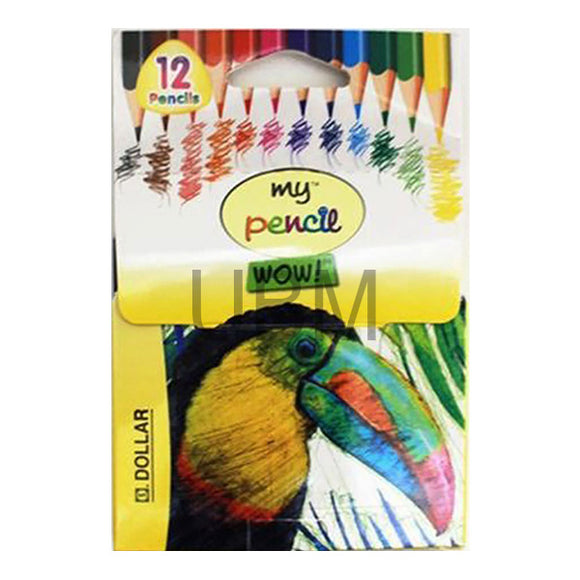 Dollar Colour Pencil 12 Half