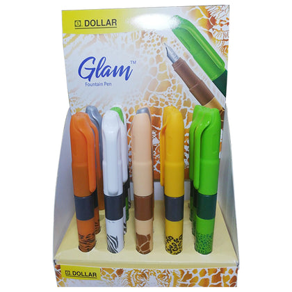 Dollar Glam Fountain Pen Colored (10pcs)
