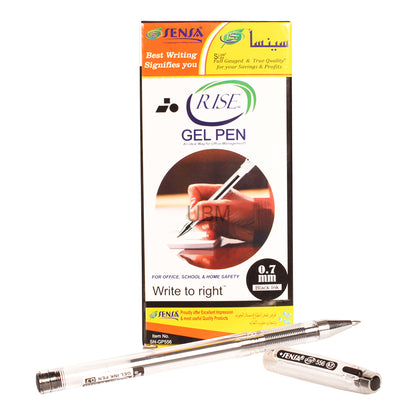 Sensa Gel Pen (Rise) 556	Black (1 Pcs)