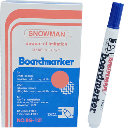 Snowman Board Marker No-90 Blue 1Pcs (CUT)