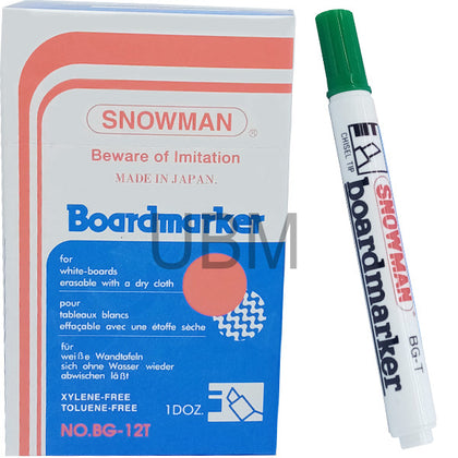 Snowman Board Marker No-90 Green 1Pcs (CUT)