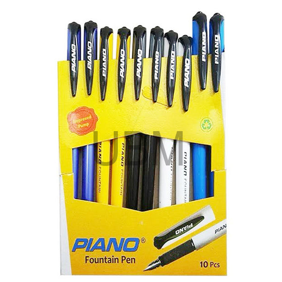 Piano Fountain Pen (10pcs)