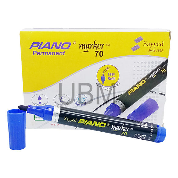 Piano Permanent Marker 70 Blue 1Pcs (Round)
