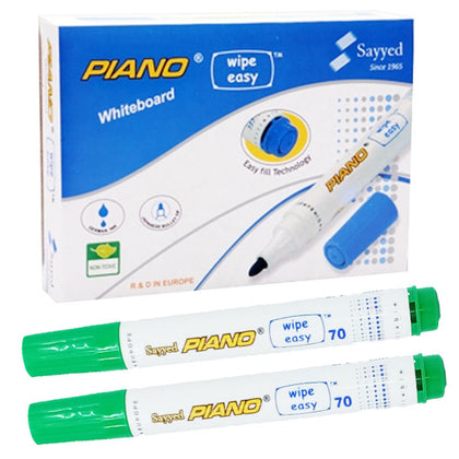 Piano White Board Marker Green (1pcs)