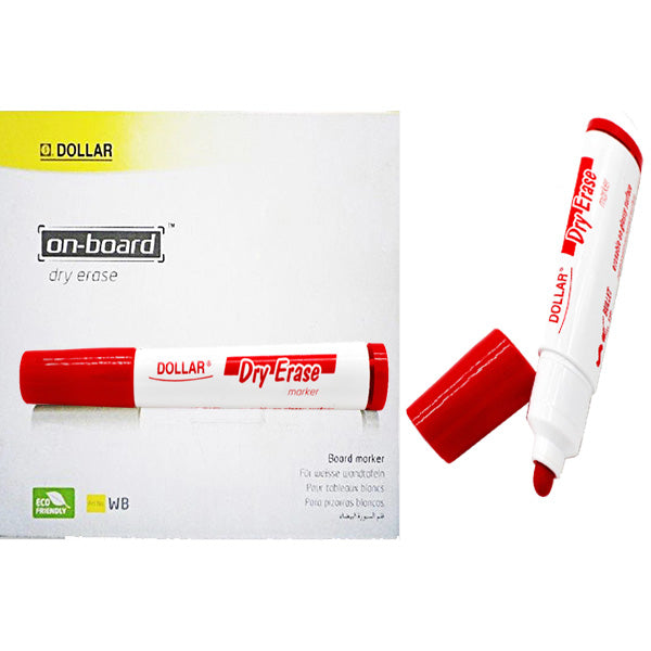 Dollar Board Marker Red (1pcs)
