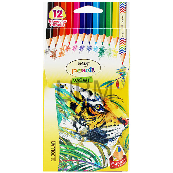 Dollar Colour Pencil 12 Full