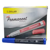 Dollar Permanent Marker 90 Blue 1Pcs (CUT)