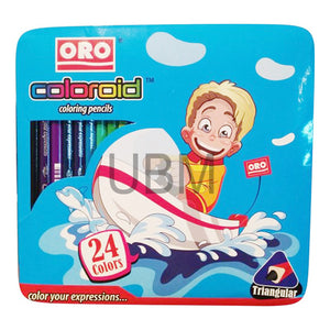 Oro Color Pencil 24 Color Full