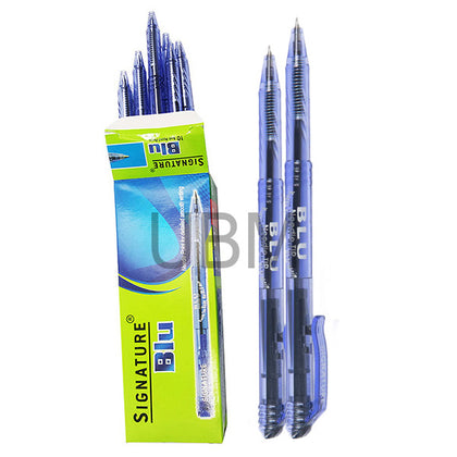 Signature Ball Pen Blu Black (Dabi)