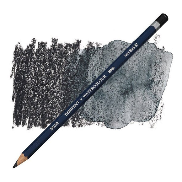 Water Colour Pencil Individual Lvory Black 32867