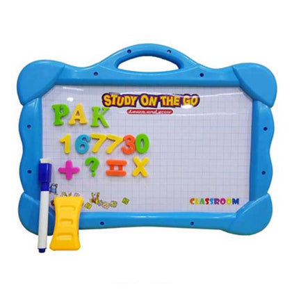 White Board Magnetic ABC #123