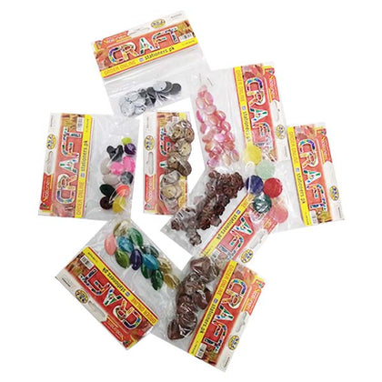 Drawing Craft Beads - Coloured