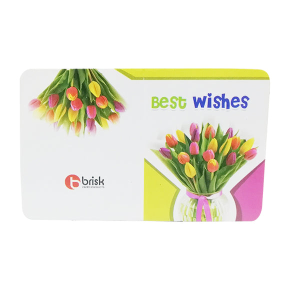 Envelope Best Wishes Fine(6PC)