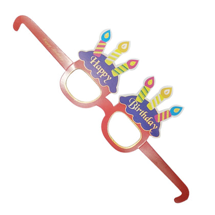 Birthday Eye Card Glasses