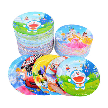 Birthday Plates Large 10 Pcs