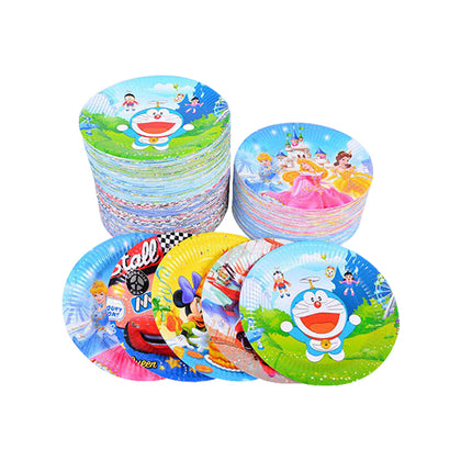 Birthday Plates Small 10 Pcs