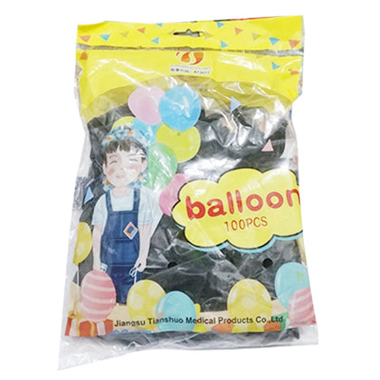 Balloon Black 1Pkt (100pcs)