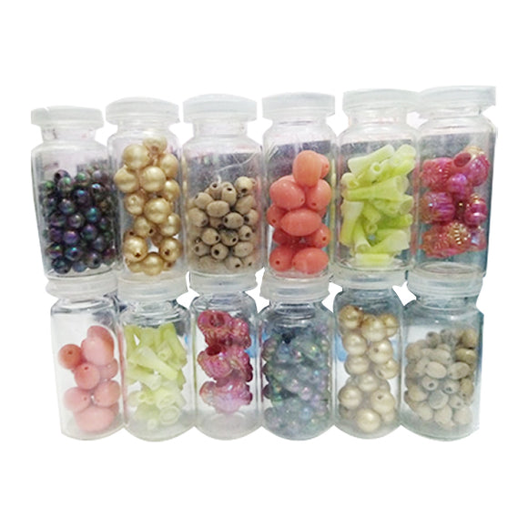 Beads 12 Bottle Pkt