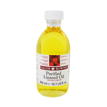 Purified Linseed Oil 300ml