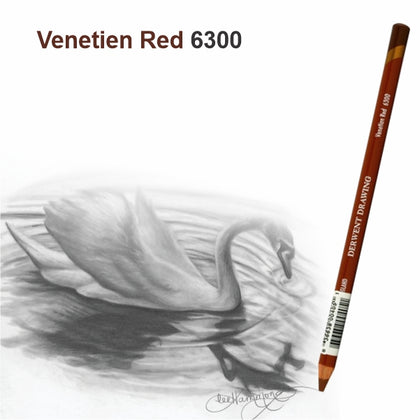 Drawing Pencil Venetian Red NO.6300-Derwent (34387)